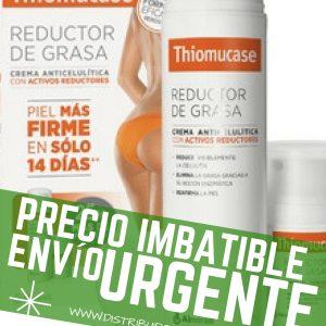THIOMUCASE REDUCTOR DE GRASA    200ML + 50ML