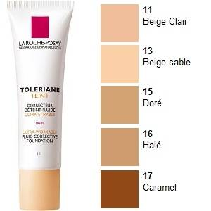 La Roche Posay Toleriane Teint Maquillaje Fluido Nº 16 Bronceado, 30ml