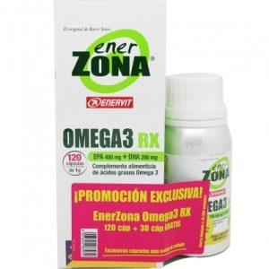 Enerzona Omega 3 RX 120 + 30 Cápsulas.