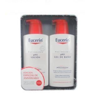 Eucerin pH5 Pack Loción Intensiva Piel Sensible, 400ml + Gel de Baño, 400ml