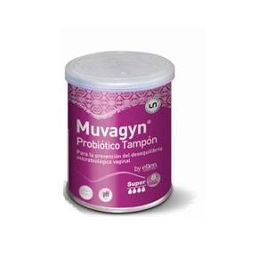 Casen Fleet Muvagyn Probiótico Tampón Vaginal Super, 8Ud
