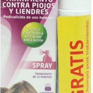 Paranix Spray 60ml +liendrera + champú