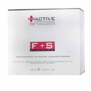 Vital Plus Active F + S Tratamiento Gotas Concentradas Caspa Sebo, 35ml