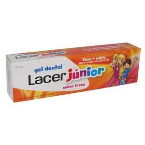 Lacer Junior Gel Dental Fresa, 75ml