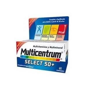 Multicentrum Select 50+ Adultos, 90 Comprimidos
