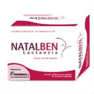Natalben Lactancia, 60 Cápsulas