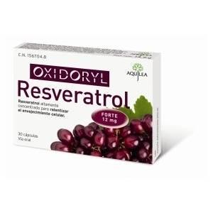 Aquilea Oxidoryl Resveratrol, 30 Cápsulas