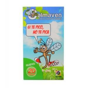 Calmaven parches antimosquitos, 20 Ud