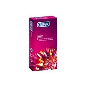 Durex Preservativos New Mix Easy On Modelos Variados, 6Ud