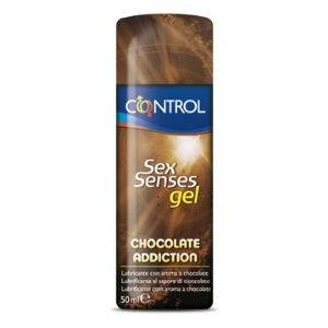 Control Sex Senses Chocolate Addiction Gel Lubricante, 50ml