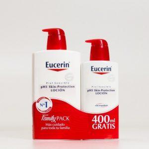 Eucerin Loción, 1L.+ 400ml Gratis