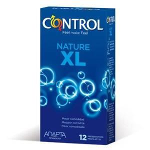 Control Preservativos Nature XL, 12Ud