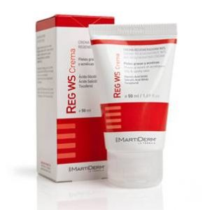 Martiderm REG WS crema regeneradora pieles grasas y acnéicas, 50 ml