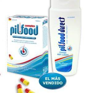 Pilfood 120 comprimidos + Campú de Regalo