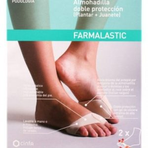 Farmalastic almohadilla doble protección talla G