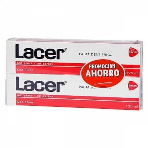 Lacer Pasta Dental Duplo, 2x125ml