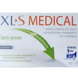 XLS MEDICAL CAPTAGRASAS 180 comp.