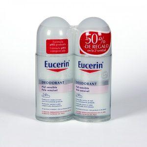 Eucerin pH5 DUPLO Desodorante Roll-on Piel Sensible, 50ml