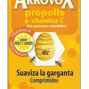 Arkovox Suaviza la Garganta con Miel y LImón, 24 pastillas