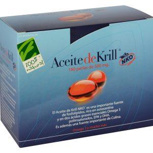 Aceite de krill NKO 180 capsulas, Cien por cien Natural