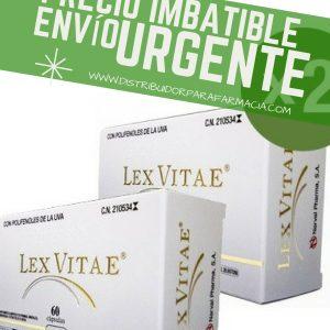 LEX VITAE  2X60 CAPS + DOS LIBROS DE REGALO+ DOS MUESTRAS