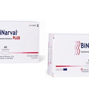 PACK BINARVAL PLUS 2×60 CAPS + Ejemplo Dieta Equilibrada+ 2 Muestras