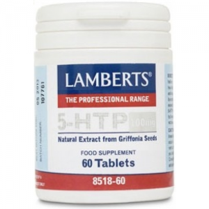 Lamberts 5HTP 100 mg 60 tabletas