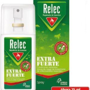 Relec Spray Extra Fuerte – Repelente de Insectos 75 ml
