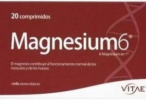 Magnesium-6 20 comprimidos Vitae