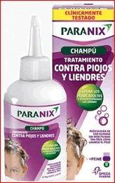 Paranix tratamiento antipiojos y liendres champu 200ml + liendrera