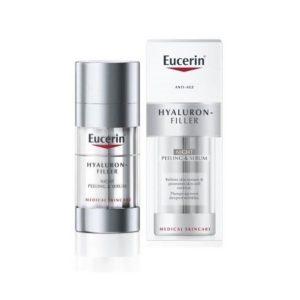 Eucerin Hyaluron Filler Peeling y Serum Noche 30ML