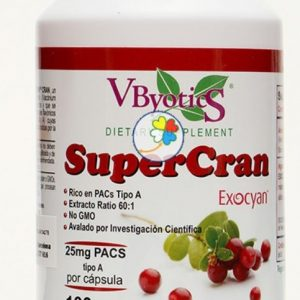 Cranberry SuperCran 25/30, 100 cápsulas