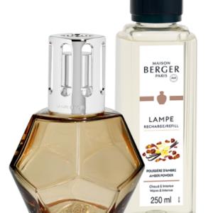 Berger Lámpara Geometry Miel + Recambio Polvo De Ámbar 250 ML