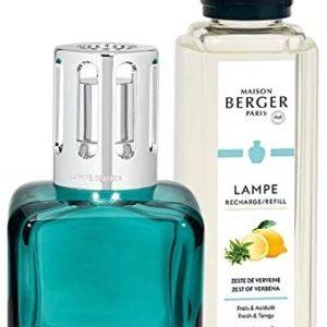 Berger Lámpara Glacon Verde + Recambio Flor De Limón 250 ML
