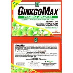 GINKGOMAX 30 TABLETAS ESI
