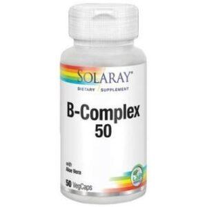 B Complex  Solaray 50 cápsulas
