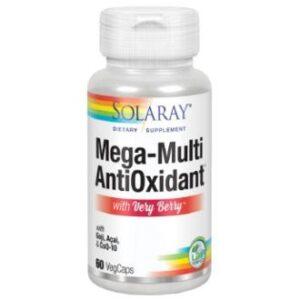 Antioxidante Mega Multi Solaray 60 cápsulas