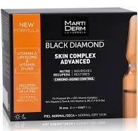 Martiderm Black Diamond Skin Complex Advance 30 ampollas