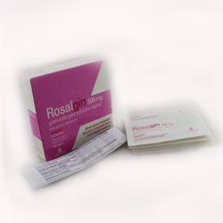 Rosalgin 500 Mg 10 Sobres Granulado Para Solucion Vaginal