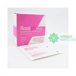 Rosalgin 500 Mg 20 Sobres Granulado Para Solucion Vaginal