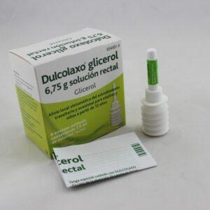 Dulcolaxo Glicerol 6,75 G Solucion Rectal 6 Enemas 7,5 Ml