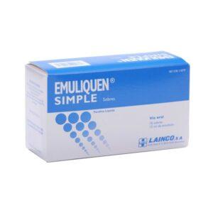 Emuliquen Simple 7.17 G 10 Sobres Emulsion Oral 15 Ml