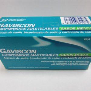 Gaviscon 32 Comprimidos Masticables (Sabor Menta)