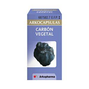 Carbon Vegetal Arkopharma 225 Mg 50 Capsulas