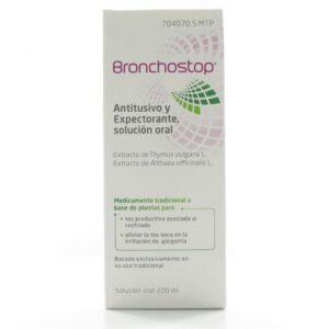 Bronchostop Antitusivo Y Expectorante Solucion Oral 200 Ml