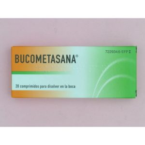 Bucometasana 20 Comprimidos Para Chupar