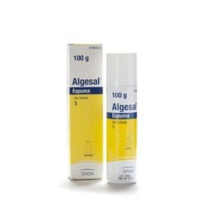 Algesal 100 Mg/G + 10 Mg/G Espuma Cutanea 1 Envase A Pre