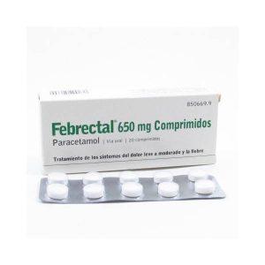 Febrectal 650 Mg 20 Comprimidos