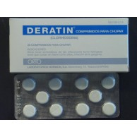 Deratin 5 Mg 20 Comprimidos Para Chupar