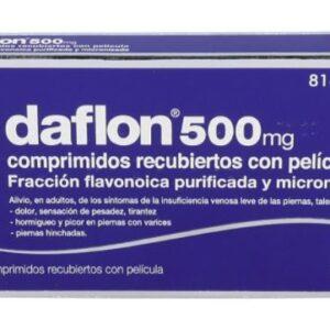 Daflon Difarmed 500 Mg 30 Comprimidos Recubiertos